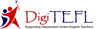 Logo of DigiTEFL - Supporting Independent Online English Teachers