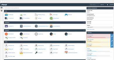 cPanel Site Manager